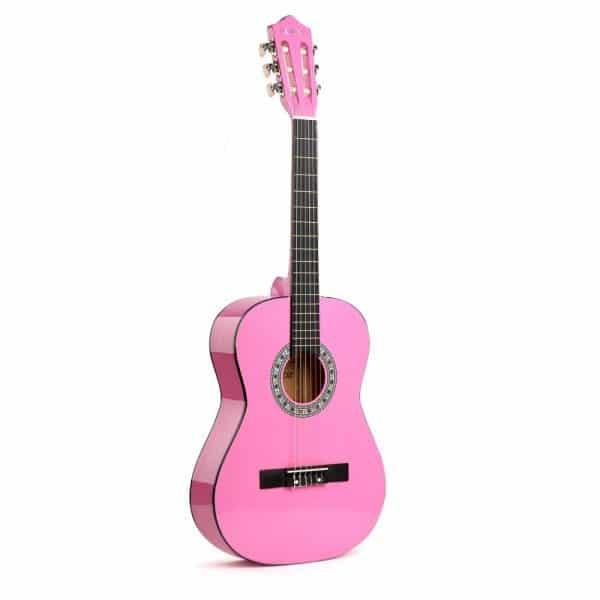גיטרה ורודה
